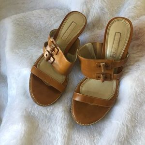 Unisa Camel Colored Heels Size 7